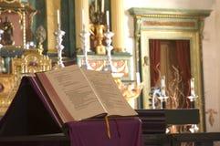 Kapell på den beskickningSan Jose-Bibeln royaltyfria foton