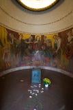Kapell på den sovjetiska krigminnesmärken Berlin Arkivbild