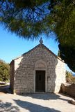 Kapell på Marjan Forest Park arkivbild