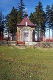 Kapell på Murinkovy vrch Arkivbild