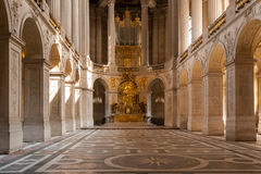 Kapell på Versailles Royaltyfria Foton