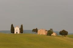 kapell tuscany Royaltyfri Fotografi