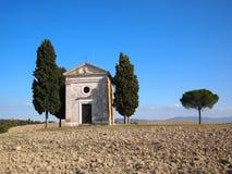 kapell tuscany royaltyfria foton