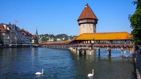 Kapellbrücke Royalty Free Stock Photos