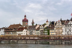 Kapellbrucke, Lucerne Stock Photography