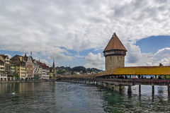 Kapellbrucke, Lucerne Royalty Free Stock Photo