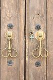 Kapelldörr, Andalusia, Spanien royaltyfria foton