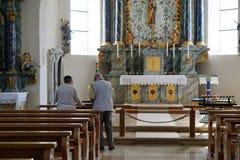Kapelle Aggenhausen in Süd-Deutschland lizenzfreie stockfotos