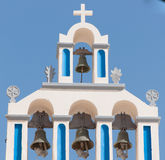 Kapelle in Akrotiri - Santorini - Griechenland Lizenzfreies Stockbild