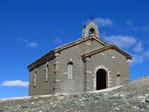 Kapelle auf dem Gornergrat Lizenzfreies Stockfoto