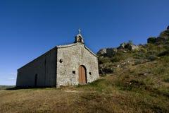 Kapelle auf dem Hügel Lizenzfreies Stockfoto