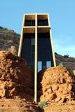 Kapelle in den Felsen Lizenzfreies Stockbild