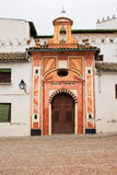 Kapelle der Auffassung in Cordoba stockbild