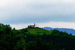 Kapelle der Besteigung Stockbild