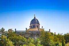 Kapelle in der Mitte von Forcalquier-Stadt Frankreich stockbild
