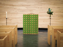 Kapelle der Ruhe stockfoto