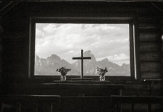 Kapelle der Transfiguration Stockbilder