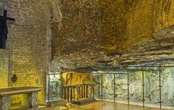 Kapelle des Findens des Kreuzes Stockbild