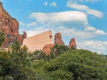 Kapelle des heiligen Kreuzes, Sedona, Arizona lizenzfreie stockfotografie