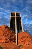 Kapelle des heiligen Kreuzes, Sedona, AZ Lizenzfreies Stockbild