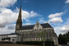 Kapelle des Klosters der Töchter von Klugheit in Heilig-Laurent-sur-Sevre in der Abteilung von Vendee, Frankreich Stockfotografie