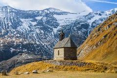 Kapelle für Bergsteiger Stockfoto