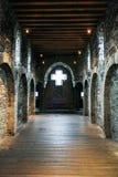 Kapelle im alten Schloss Lizenzfreie Stockfotografie