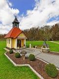 Kapelle im Bayern Stockfotografie