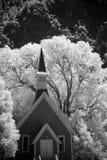 Kapelle im Holz Stockbild