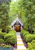 Kapelle im Holz Lizenzfreie Stockfotos