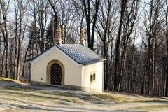 Kapelle im kalwaria lizenzfreie stockfotografie