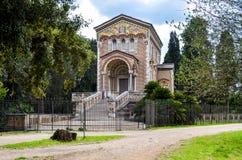 Kapelle im Landhaus Doria Pamphili in Rom stockfoto