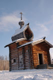 Kapelle im Museum Talzy Lizenzfreie Stockfotos