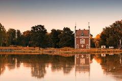 Kapelle im Park Lizenzfreies Stockbild