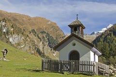 Kapelle im Valser Tal Fotografie Stock Libere da Diritti
