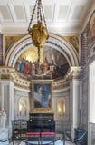 Kapelle innerhalb des Achilleion in Gastouri, Korfu, Griechenland Lizenzfreies Stockbild