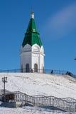 Kapelle in Krasnojarsk lizenzfreie stockfotografie