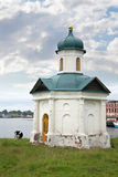Kapelle an Land Stockfotografie