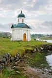 Kapelle an Land Lizenzfreie Stockfotos