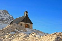 Kapelle Maria Heimsuchung beim Zugspitze Lizenzfreies Stockbild