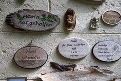 Kapelle in Maria-hilf in Süd-Deutschland lizenzfreies stockbild