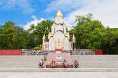 Kapelle St Andrew, Wladiwostok lizenzfreie stockbilder