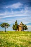 Kapelle in Toskana Lizenzfreies Stockfoto