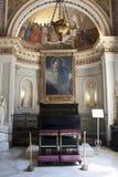 Kapelle vom Achillion Palast Stockfotos