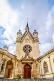 Kapelle von Château De Chantilly lizenzfreie stockfotografie