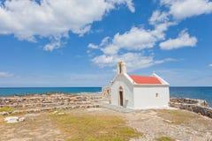 Kapelle von Chersonissos Lizenzfreie Stockfotografie