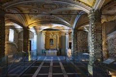 Kapelle von Knochen, Evora, Portugal Lizenzfreie Stockfotos