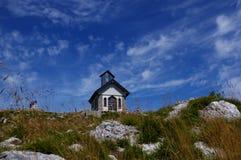 Kapelle von Matajur Lizenzfreies Stockfoto