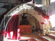 Kapelle von Melisende, Königin von Jerusalem Stockbild