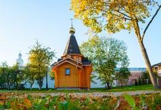 Kapelle von St. Vladimir - der Prinz von Novgorod und Baptist von Rus im Kreml in Veliky Novgorod, Russland lizenzfreies stockfoto